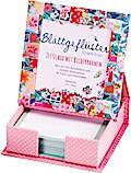 Blattgeflüster Patchwork Zettelbox mit Bilder ...