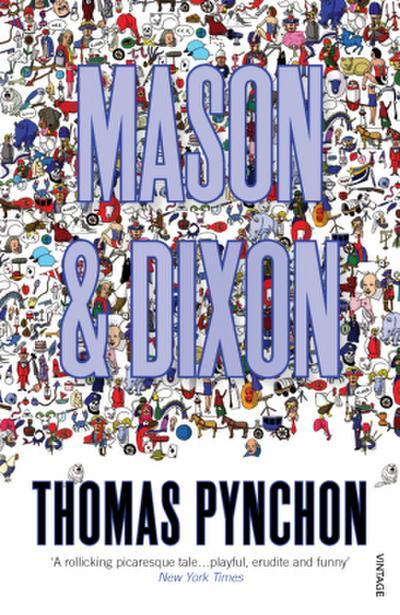 Mason & Dixon, English edition