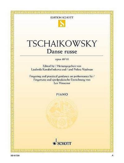 Danse russe: Fingersatz und spielpraktische Einrichtung von Lev Vinocour. op. 40/10. Klavier. (Edition Schott Einzelausgabe)