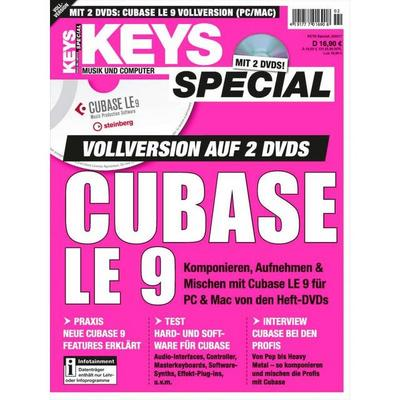 Keys Special Cubase LE 9 Vollversion, m. 2 DVD-ROMs