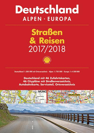 Shell Straßenatlas 2017/2018