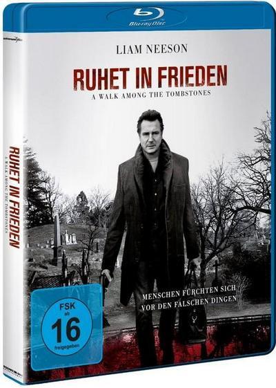 Ruhet in Frieden - A Walk Among the Tombstones, 1 Blu-ray