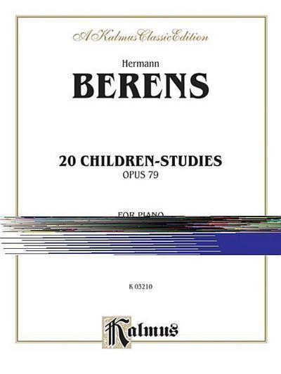 20 Children's Studies, Op. 79