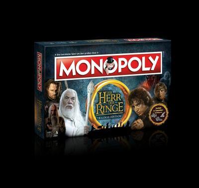 Monopoly, Der Herr der Ringe  Trilogie-Edition (Spiel)
