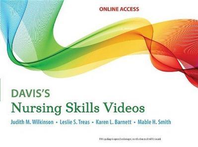 Wilkinson: Davis's Nursing Skills Videos Card with Access Code
