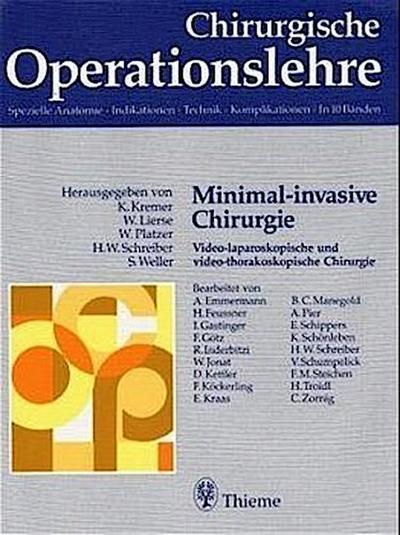 Chirurgische Operationslehre Minimal-invasive Chirurgie