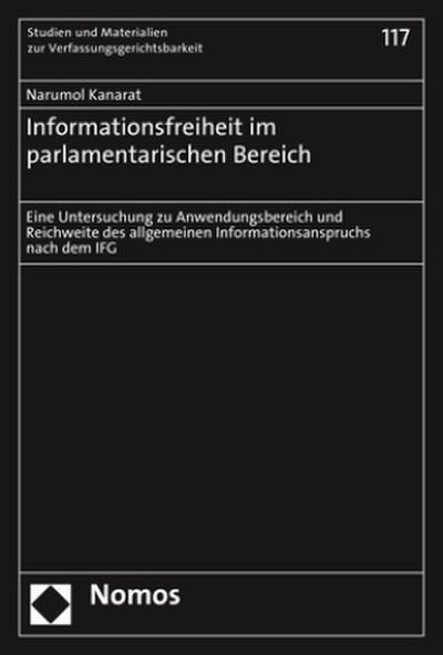 Informationsfreiheit im parlamentarischen Bereich