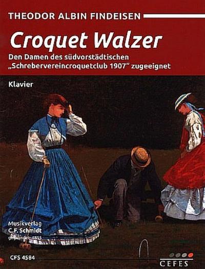Croquet Walzerfür Klavier