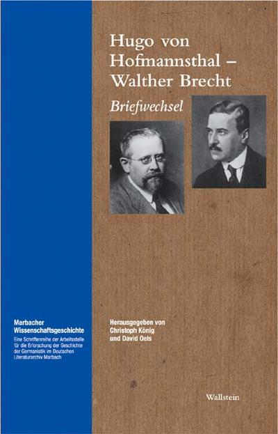 Briefwechsel (Marbacher Wissenschaftsgeschichte)