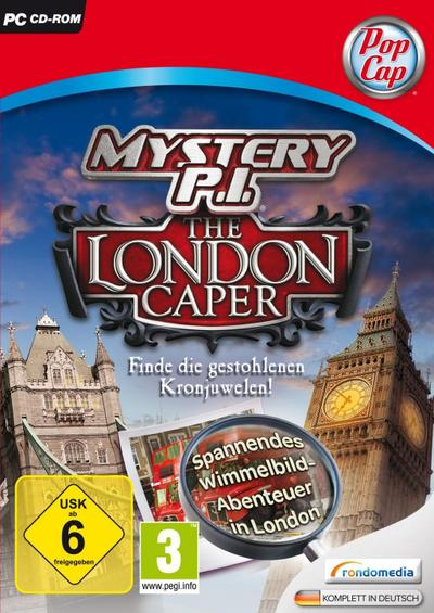 Mystery P.I.: The London Caper - [PC]