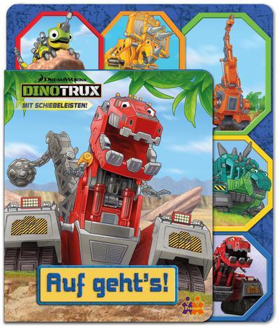 Dinotrux. Auf geht's!: Mit Schiebeleisten