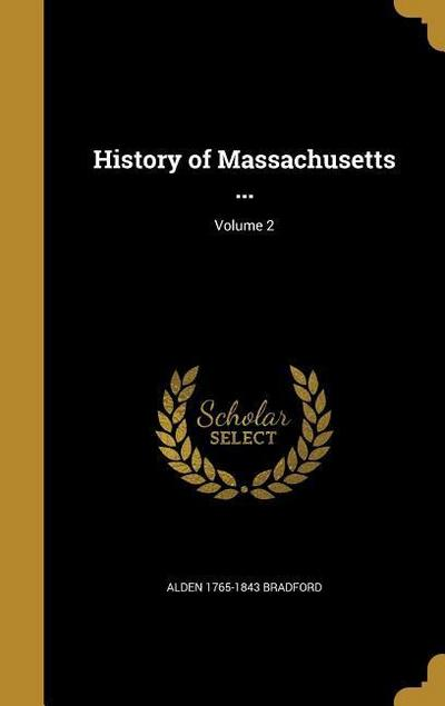 HIST OF MASSACHUSETTS V02