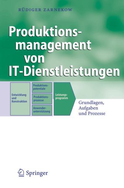 Produktionsmanagement von IT-Dienstleistungen