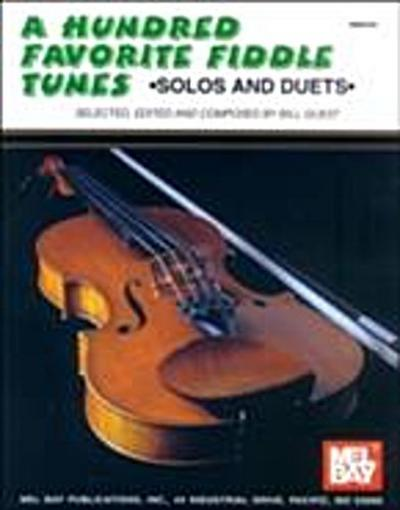 Hundred Favorite Fiddle Tunes