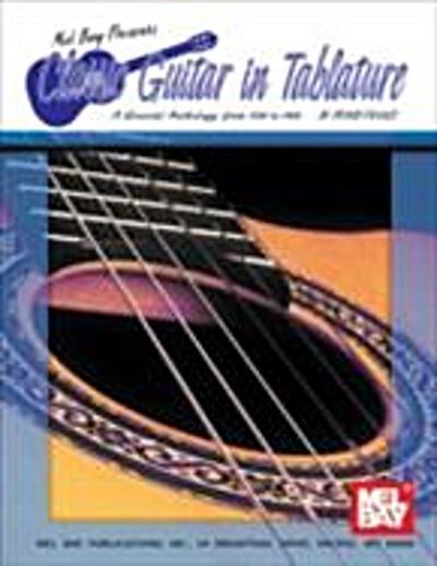 Classic Guitar in Tablature, Volume 1