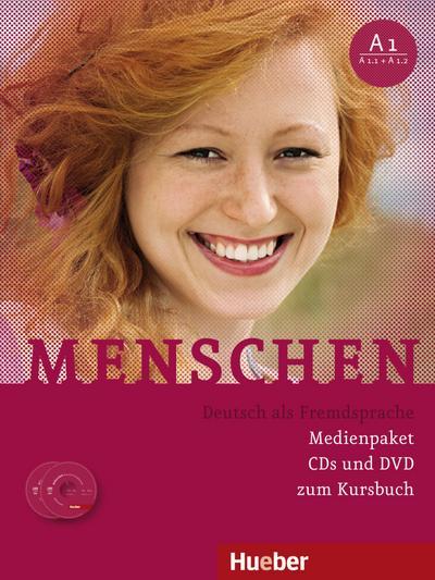 Menschen A1. 3 Audio-CDs und 1 DVD zum Kursbuch
