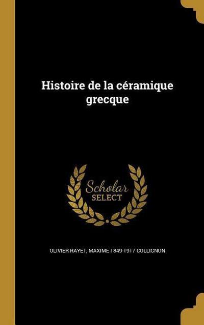 FRE-HISTOIRE DE LA CERAMIQUE G