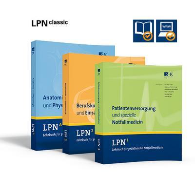 LPN - Lehrbuch für präklinische Notfallmedizin CLASSIC (Gesamtwerk: 3 Bände)