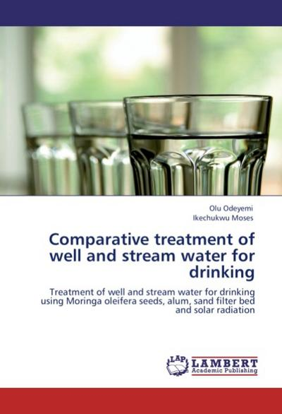 Comparative treatment of well and stream water for drinking