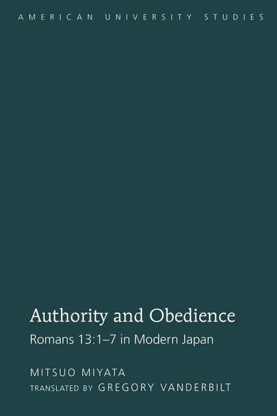 Authority and Obedience