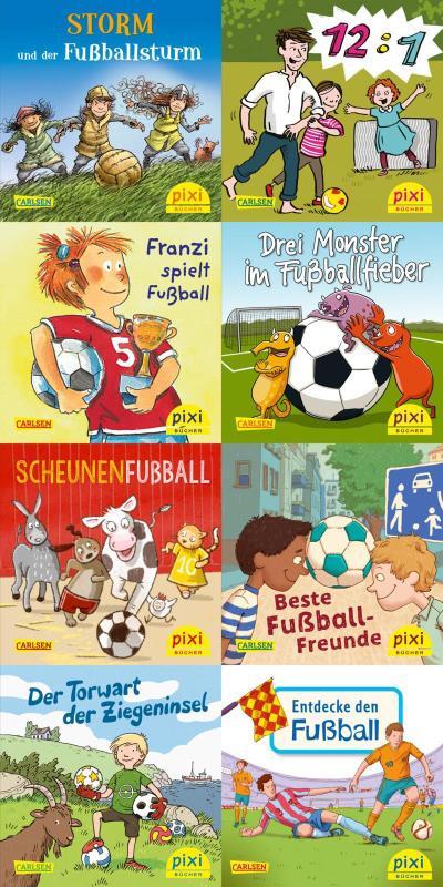 Pixi-8er-Set 267: Pixi spielt Fußball (8x1 Exemplar)
