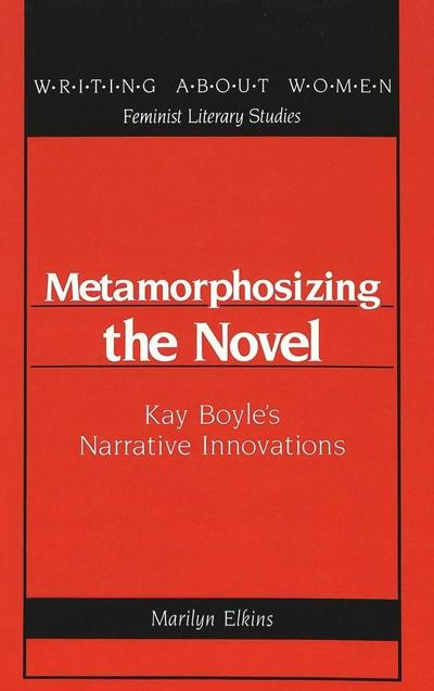 Metamorphosizing the Novel