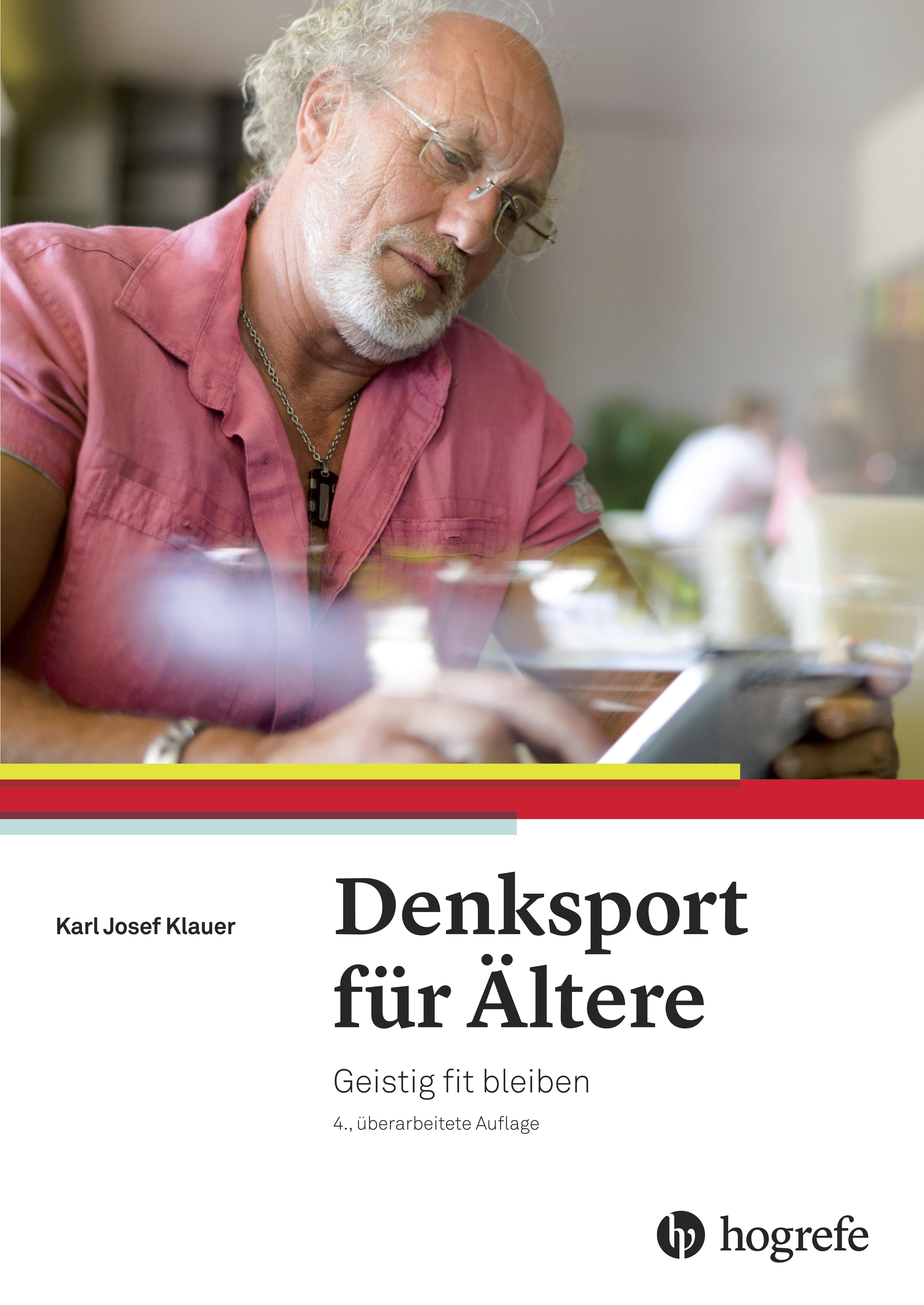 NEU Denksport für Ältere Karl Josef Klauer 855998