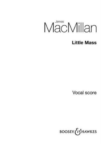 Little Massfor children's chorus and orchestra