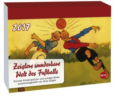 Zeigler Fussball Tagesabreisskalender - Kalender 2017