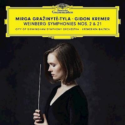 Weinberg Symphonies Nos. 2 + 21, 2 Audio-CDs
