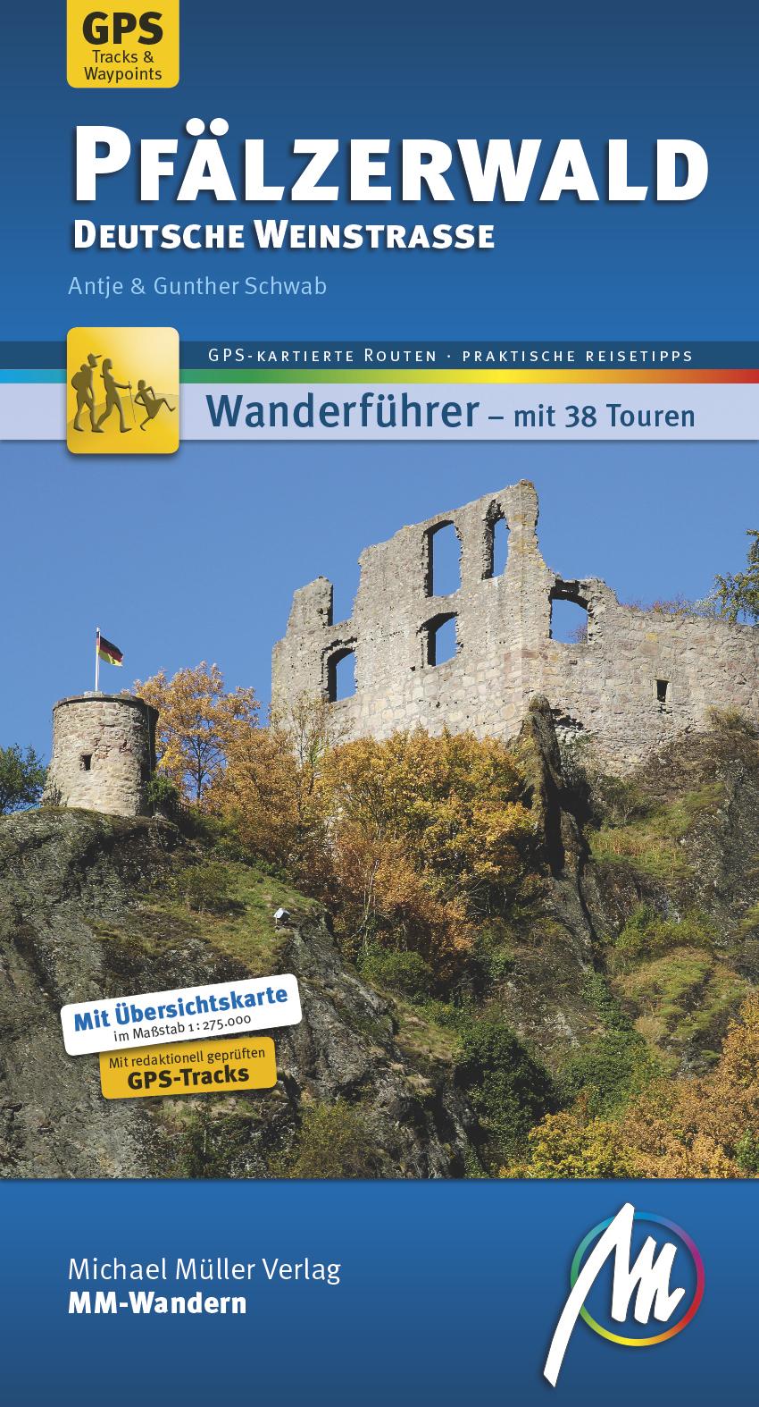 Pfälzerwald - Deutsche Weinstraße MM-Wandern | Antje Schwab |  9783956543364