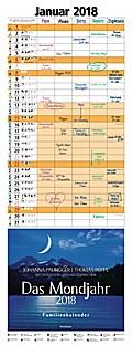 Das Mondjahr 2018 Familienkalender