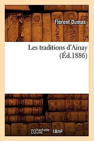 Les Traditions d'Ainay (Éd.1886)