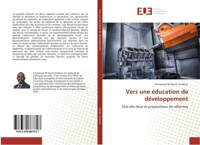 Vers une éducation de développement