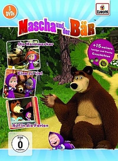 Mascha und der Bär 3er-Box 2 (Folgen 5, 6, 7)