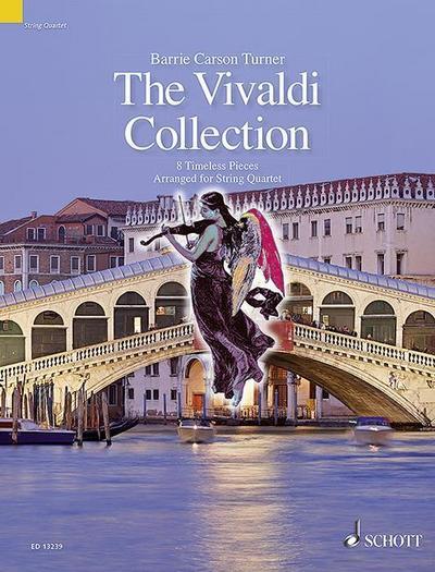 The Vivaldi Collection, Bearbeitungen für Streichquartett, Partitur und Stimmen
