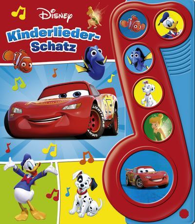 Disney - Kinderliederschatz - Liederbuch mit Sound
