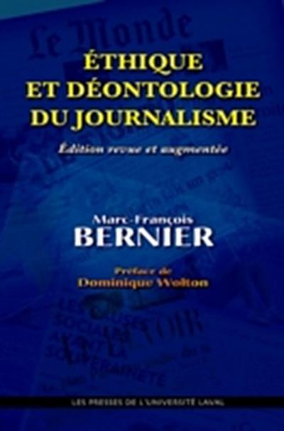Ethique et deontologie du journalisme N.E.