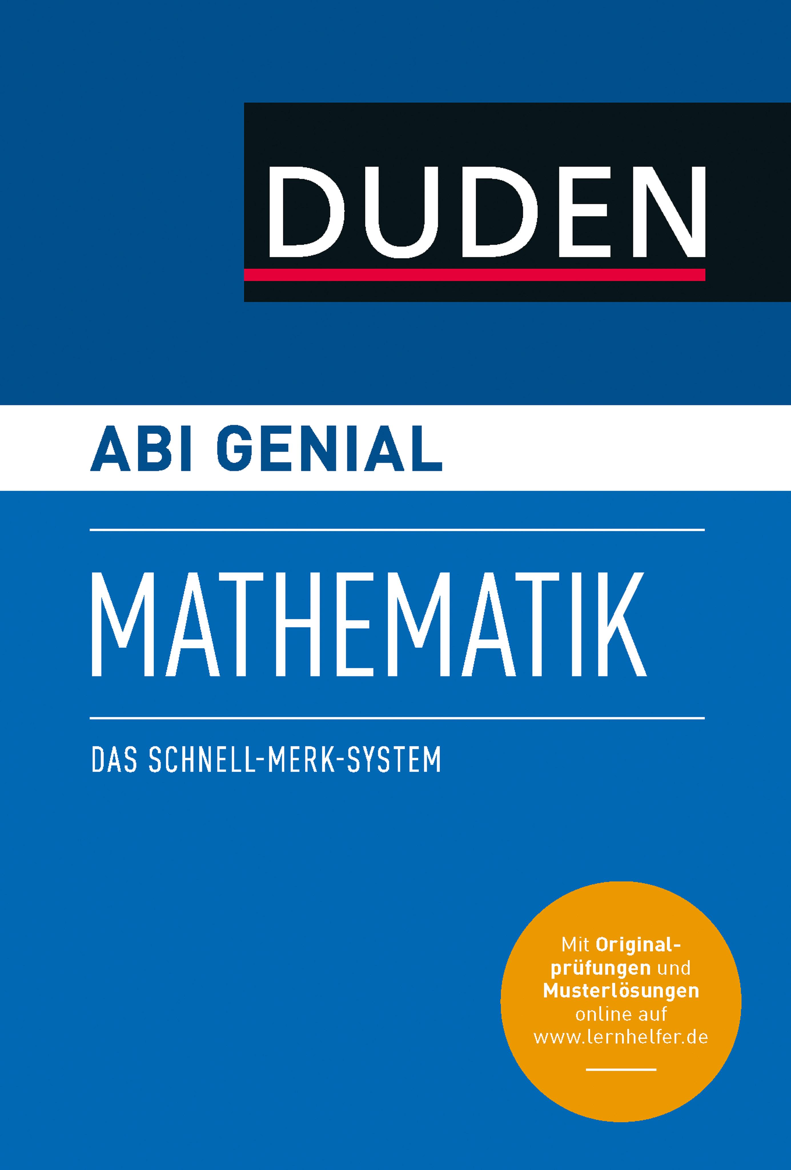 Karlheinz Weber Abi genial Mathematik