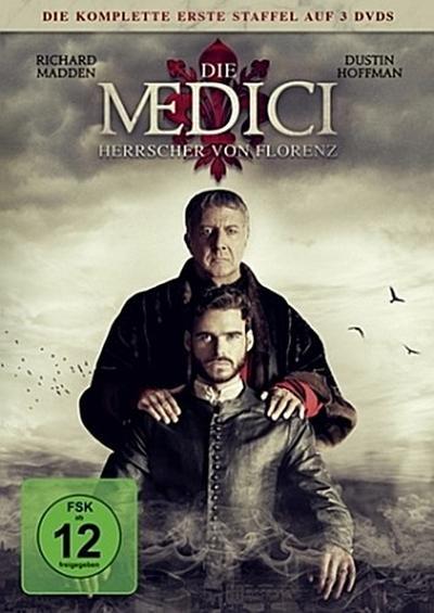 Die Medici: Herrscher von Florenz. Staffel.1, 3 DVD