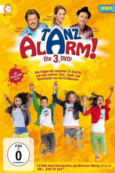 KiKA Tanzalarm! Die 3. DVD!
