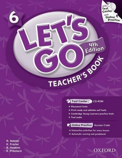 Let's Go 6: Teacher's Book with Test Center Pack