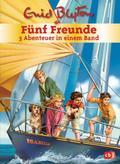 Fünf Freunde - 3 Abenteuer in einem Band; Sammelband 2; Doppel- und Sammelbände; Ill. v. Christoph, Silvia; Deutsch; Mit s/w Illustrationen