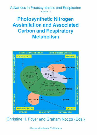 Photosynthetic Nitrogen Assimilation and Associated Carbon and Respiratory Metabolism