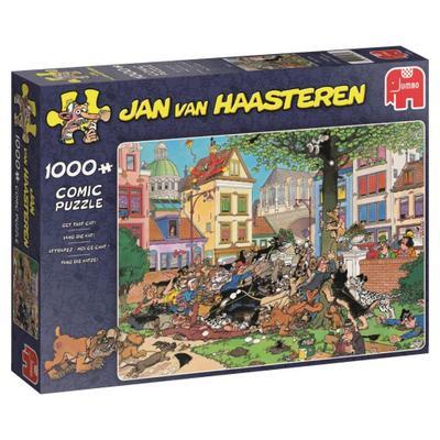 Jan van Haasteren - Fang die Katze! - 1000 Teile Puzzle