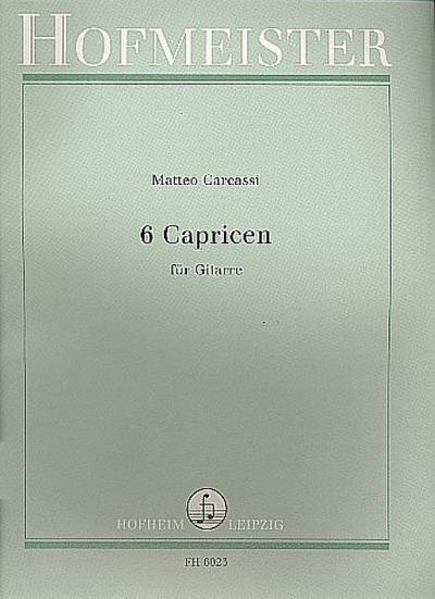 6 Capricenfür Gitarre solo