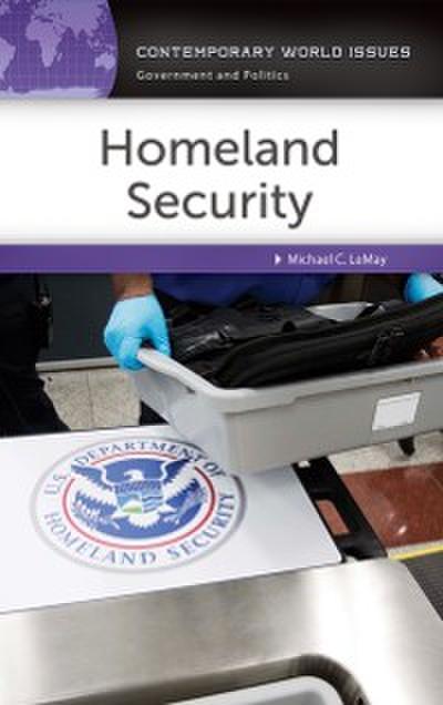 Homeland Security: A Reference Handbook