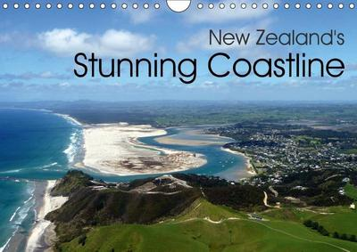 New Zealand's Stunning Coastline (Wall Calendar 2018 DIN A4 Landscape)