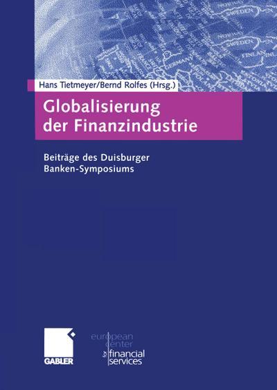 Globalisierung der Finanzindustrie
