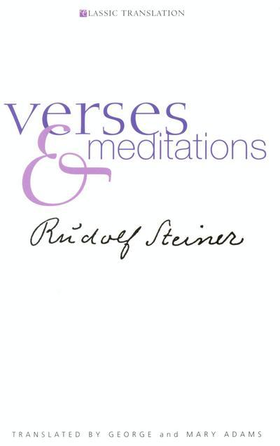 Verses and Meditations